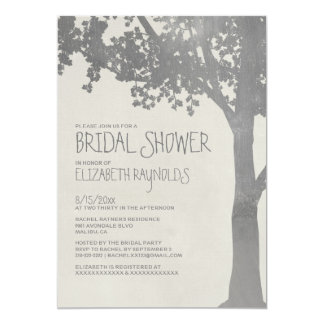 Invitaciones nupciales elegantes de la ducha de invitacion personal
