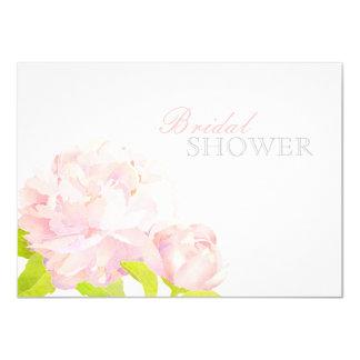 Invitaciones nupciales florales elegantes de la comunicados personalizados