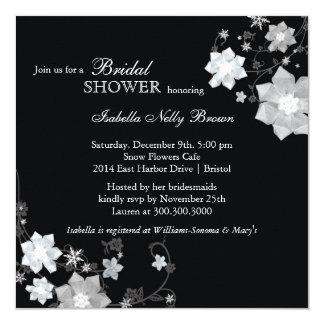 Invitaciones nupciales modernas blancas negras de invitacion personal