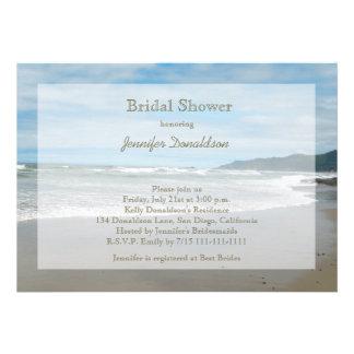 Invitaciones nupciales temáticas de la ducha de la