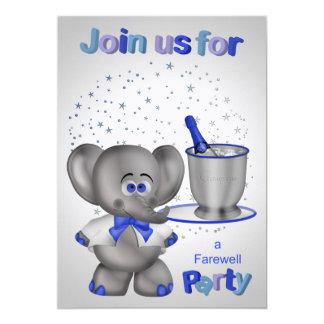 Invitaciones para el fiesta de despedida invitación 12,7 x 17,8 cm