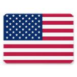 Invitaciones patrióticas, especiales con la bander