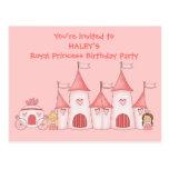 Invitaciones personalizadas de la fiesta de cumple tarjetas postales