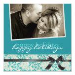 Invitaciones Photocards de las tarjetas de Navidad Comunicado Personalizado