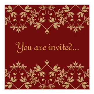 Invitaciones reales del boda invitación 13,3 cm x 13,3cm