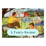Invitaciones retras de la reunión de familia del c invitacion personalizada