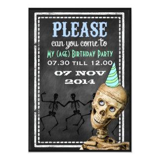 Invitaciones retras divertidas del fiesta de los anuncios personalizados