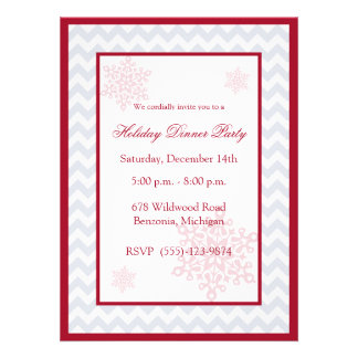 Invitaciones rojas de la celebración de días festi anuncios