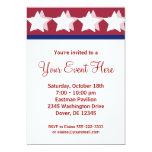 Invitaciones rojas del fiesta de la campaña de las anuncios personalizados