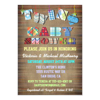 Invitaciones rústicas de la fiesta de bienvenida comunicados personales