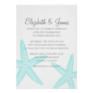 Invitaciones simples del boda de las estrellas de
