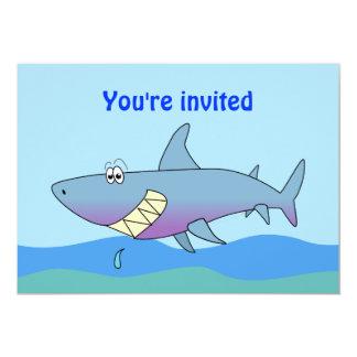 Invitaciones sonrientes lindas del fiesta del invitación 12,7 x 17,8 cm