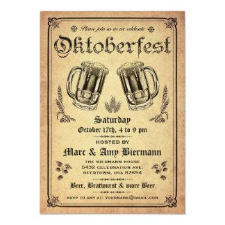 """Invitaciones supremas v.2 de Oktoberfest del Invitación 5"""" X 7"""""""