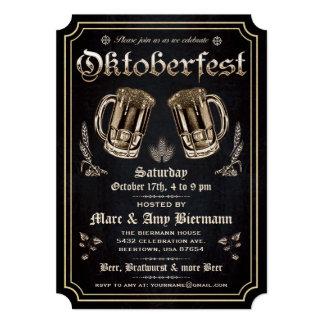 """Invitaciones supremas v.3 de Oktoberfest del Invitación 5"""" X 7"""""""