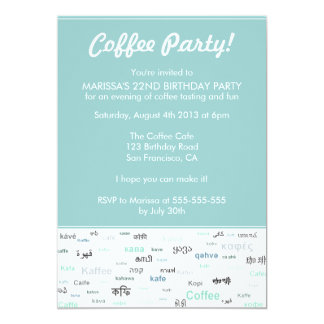 """Invitaciones temáticas de la fiesta de cumpleaños invitación 5"""" x 7"""""""