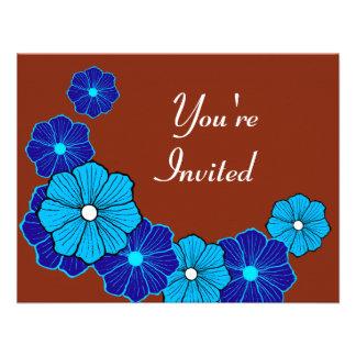 Invitaciones tropicales de Luau Invitación Personalizada