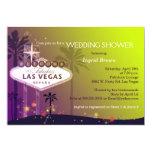 Invitaciones únicas de la ducha del boda de la invitación personalizada