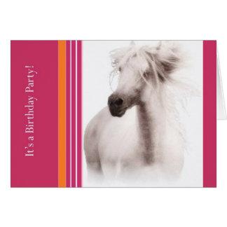 Invitaciones y tarjetas del fiesta del caballo del