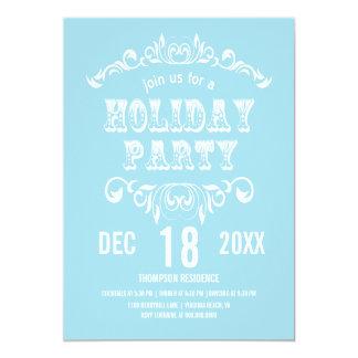 """Invitar-polvo de la celebración de días festivos invitación 5"""" x 7"""""""