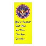 """Invitation 4"""" x 9.25"""" America not forgotten.... 4"""" X 9.25"""" Invitation Card"""