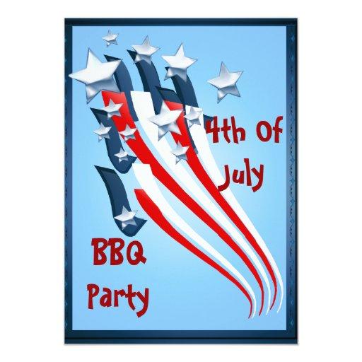 Invitation 4th Of July