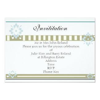 """Invitation. 5"""" X 7"""" Invitation Card"""