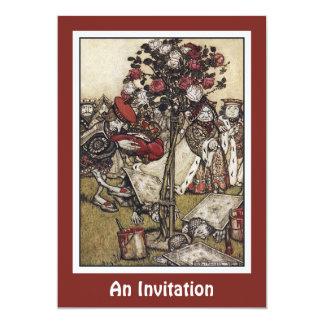 Invitation: Alice and Wonderland - Arthur Rackham Card