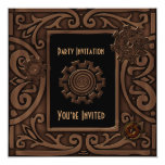 Invitation All Occasions Zizzago Steampunk Design Personalized Invite