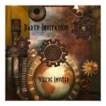 Invitation All Occasions Zizzago Steampunk Design Personalized Announcement