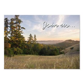 Invitation and Sunset, Santa Cruz Mtns, California