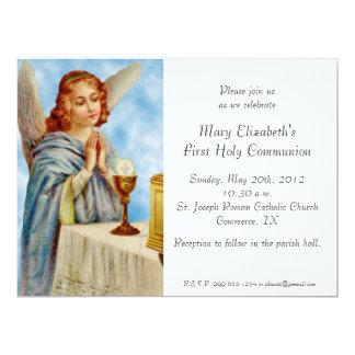 Invitation: Angel Ponders Card