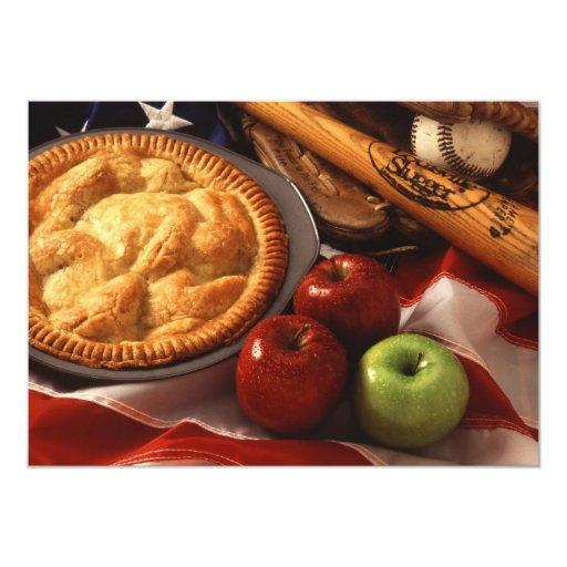 Invitation...Apple-pie Card