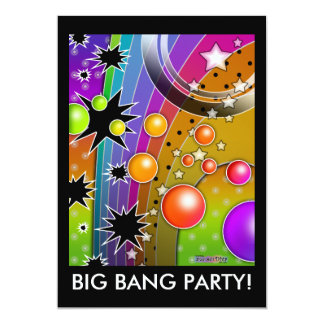 Invitation - BIG BANG BLACK HOLES POP ART