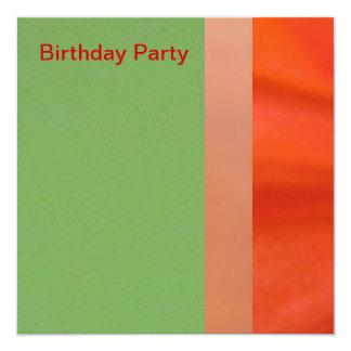 Invitation - Birthday Party - Multipurpose Card