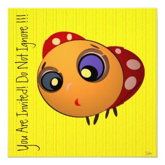 Invitation_Blue-eyed Ladybug_ZALTAR Card