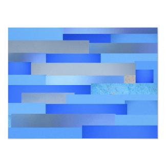 Invitation - Blue-Gray Abstract - Multipurpose
