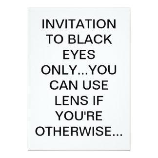 "Invitation card 5"" x 7"" invitation card"