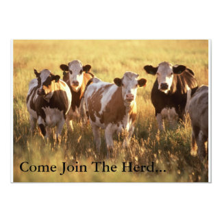 Invitation Card... Join The Herd