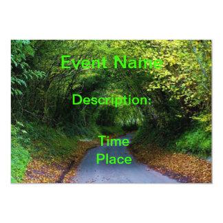 Invitation Card - Nature