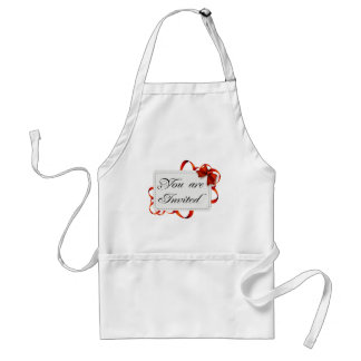 Invitation card >> You Are Invited Adult Apron