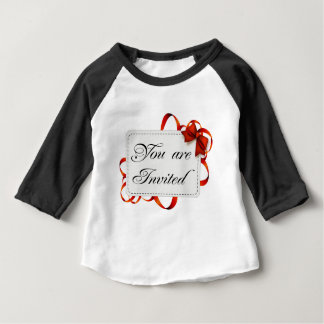 Invitation card >> You Are Invited Baby T-Shirt