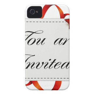 Invitation card >> You Are Invited iPhone 4 Case