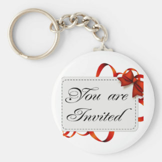 Invitation card >> You Are Invited Keychain