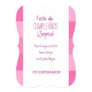 Invitation - Celebration Surprise of Birthday - Ro