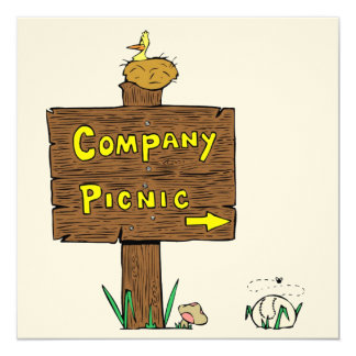 Invitation Corporate Company Picnic