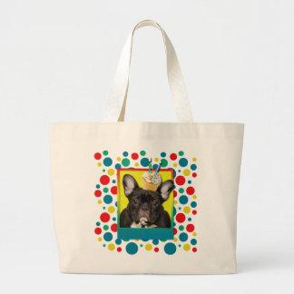 Invitation Cupcake 2 Year Old - French Bulldog Bag