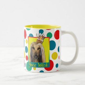 Invitation Cupcake - Afghan Two-Tone Coffee Mug