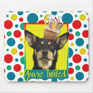 Invitation Cupcake - Australian Kelpie - Jude Mouse Pad