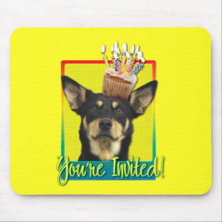 Invitation Cupcake - Australian Kelpie - Jude Mousepads