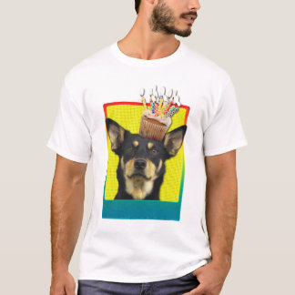 Invitation Cupcake - Australian Kelpie T-Shirt